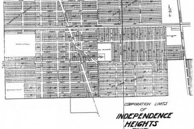 Corporation Limits of Independence Heights