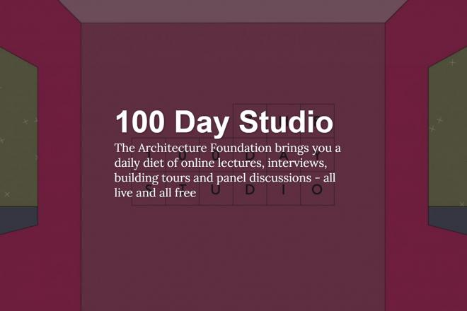 Architecture Foundation 100 Day Studio header image