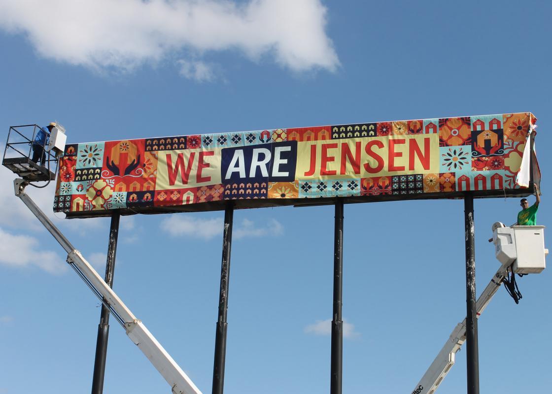 WE ARE JENSEN/NOSOTROS SOMOS JENSEN. Courtesy CDRC.