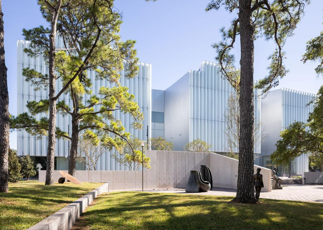 The Nancy and Rich Kinder Building at the Museum of Fine Arts, Houston. Photo: Iwan Baan.