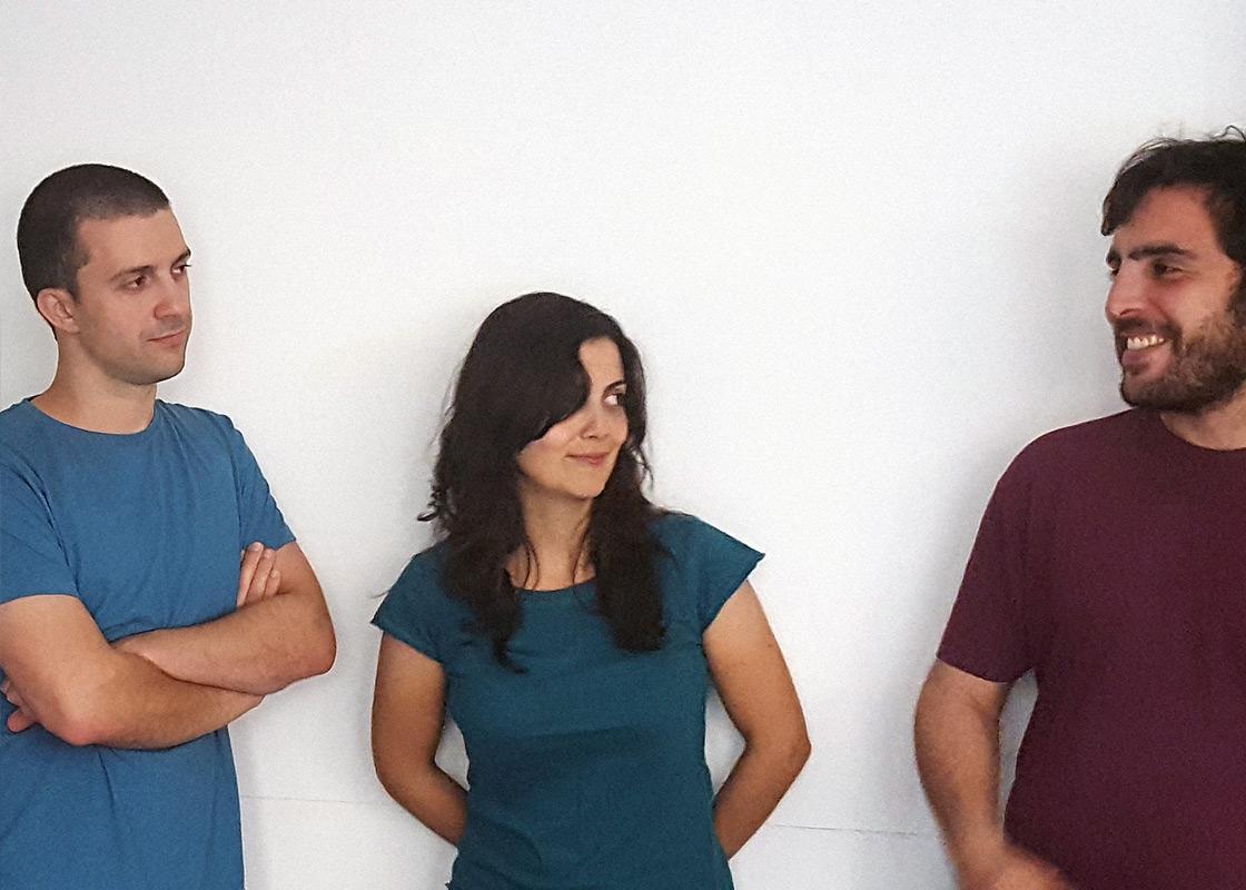 Fala Atelier: Filipe Magalhães, Ana Luisa Soares, and Ahmed Belkhodja.