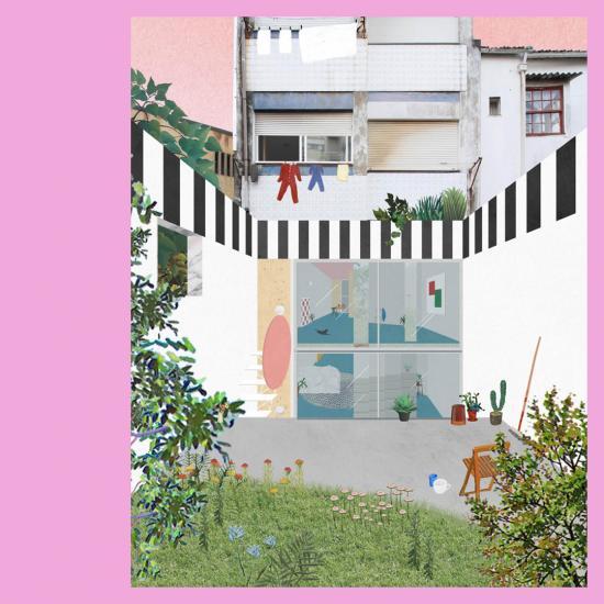 Uneven House, 2019, Porto, Fala Atelier.