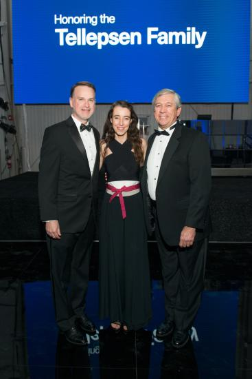 Tadd Tellepsen, RDA Executive Director Maria Nicanor, and RDA President Steve Mechler
