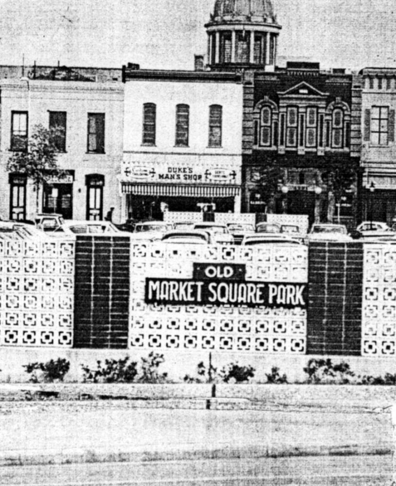 Market Square circa 1968.