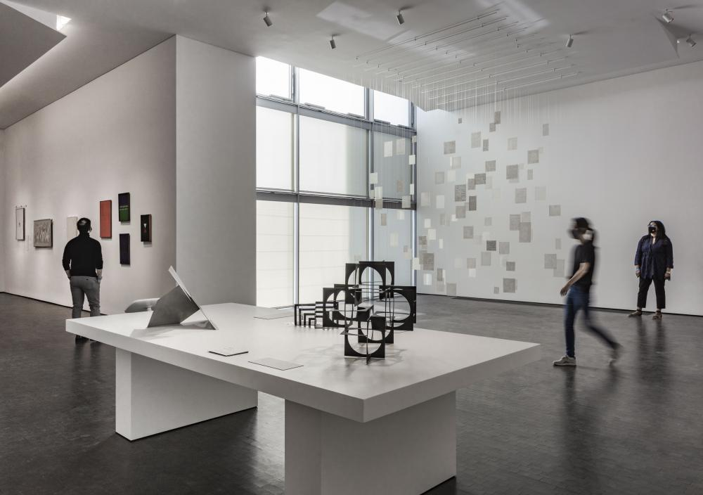 The Latin American department galleries in the new Nancy and Rich Kinder Building at the Museum of Fine Arts, Houston. © Richard Barnes, courtesy of the Museum of Fine Arts, Houston.