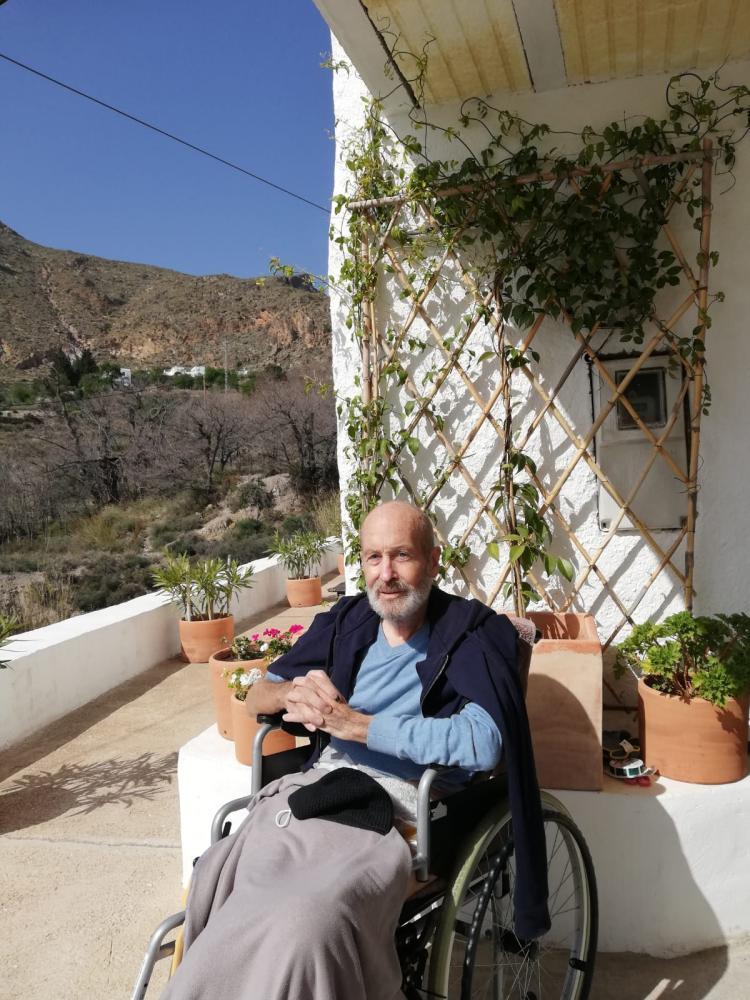 Richard Ingersoll in Spain. Image courtesy his sister via Stephen Fox.
