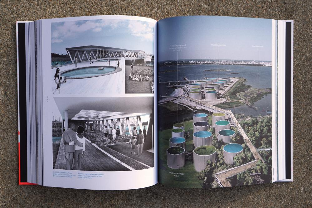 "A spread from ""Houston Genetic City."""