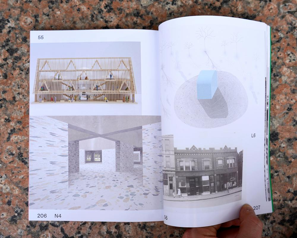 """A spread from """"Kind of Boring."""""""