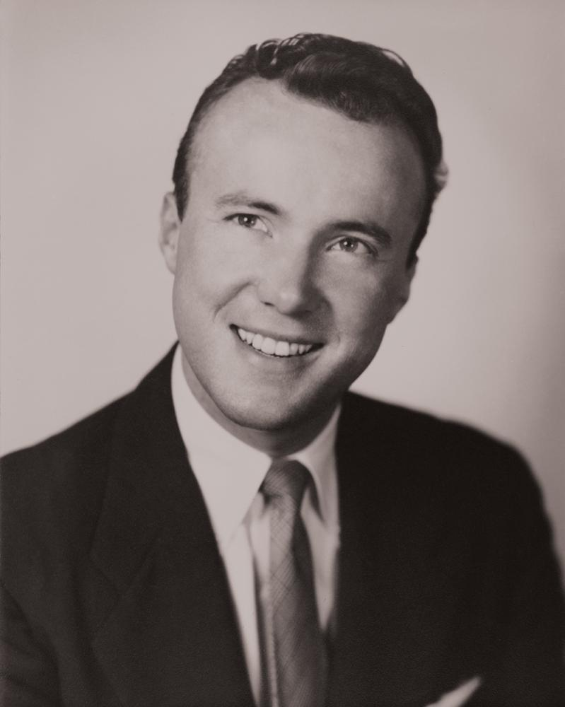 Gerald D. Hines at the time the Hines firm was founded in 1957. Photo by Hines.