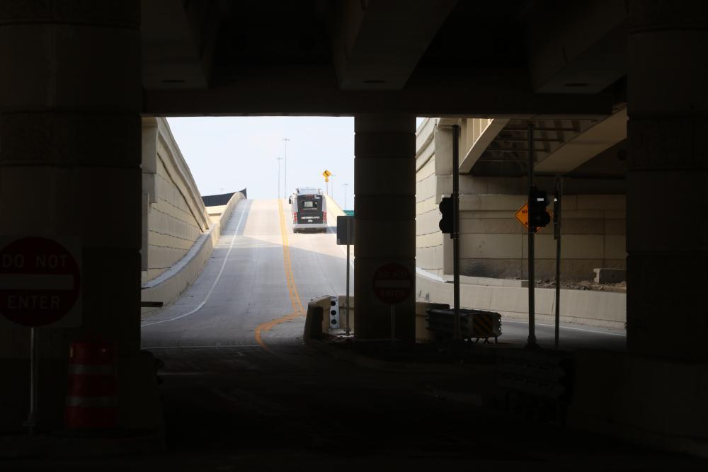 Uptown's METRORapid Silver Line. Photo by Christof Spieler.