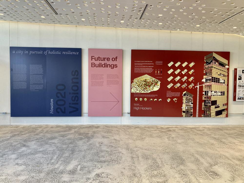 """Houston 2020 Visions."" Courtesy Architecture Center Houston."