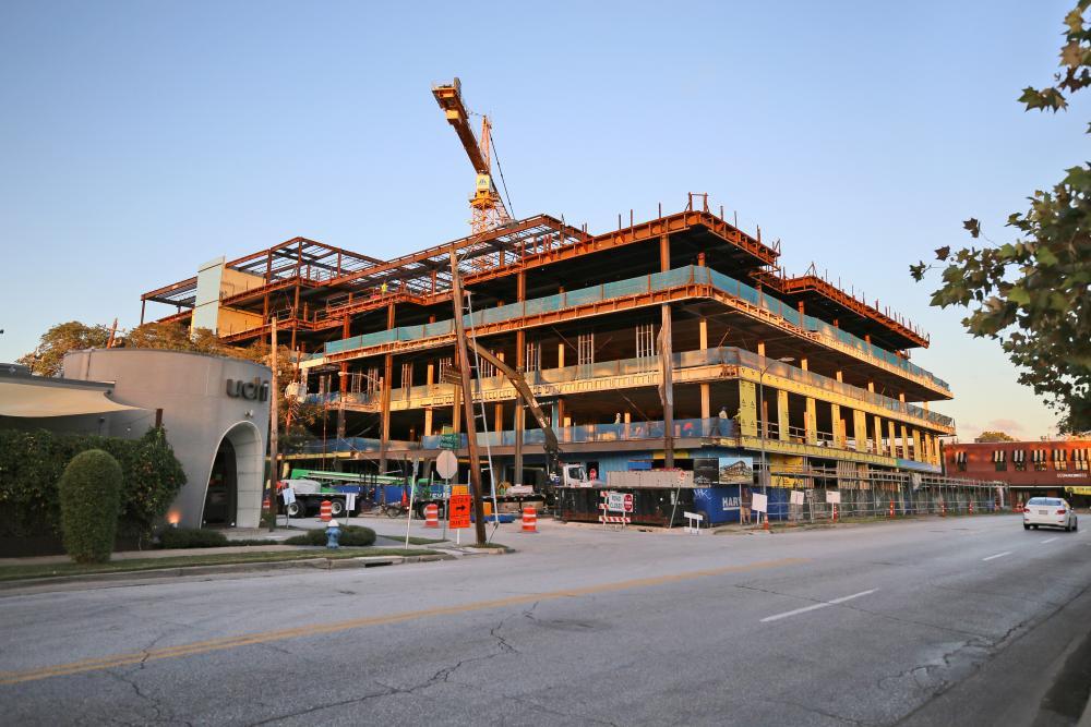 Construction progress as of early November 2020. Image courtesy Radom Capital.