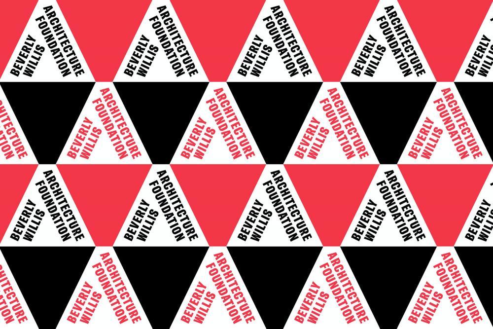 The Beverly Willis Architecture Foundation. Design by Pentagram. Via Pentagram.