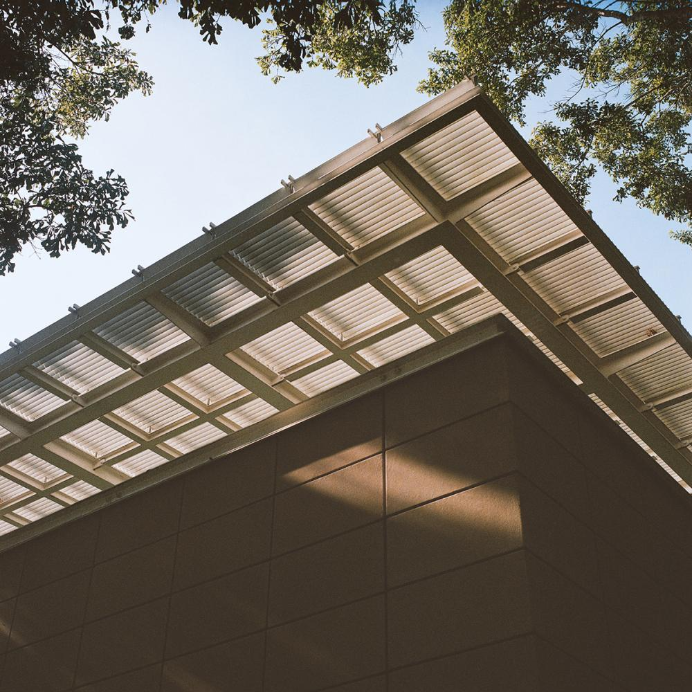 Renzo Piano Building Workshop, Cy Twombly Gallery, 1995, Menil Collection, Houston. Photo by Leonid Furmansky.