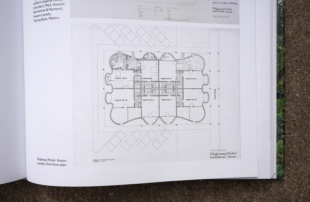 "Highway Motel, Nuevo Laredo, first-floor plan. As reproduced in ""Making Houston Modern."""
