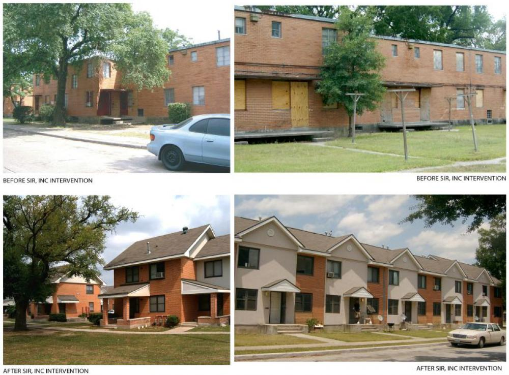 Improvements by SIR Architects. Images via SIR Architects website.