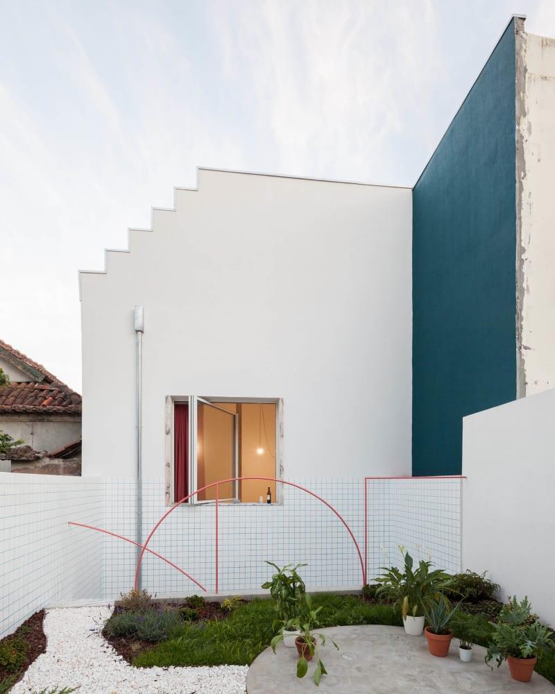 fala atelier, House with Four Columns, Porto, 2018. © Ricardo Loureiro.