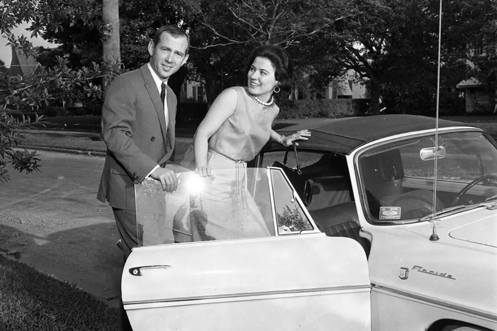 Howard and Gertrude Barnstone.