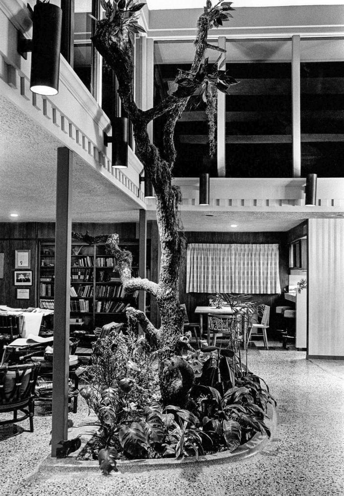 Great Room, ca. 1968. Courtesy of the African American Library at the Gregory School.