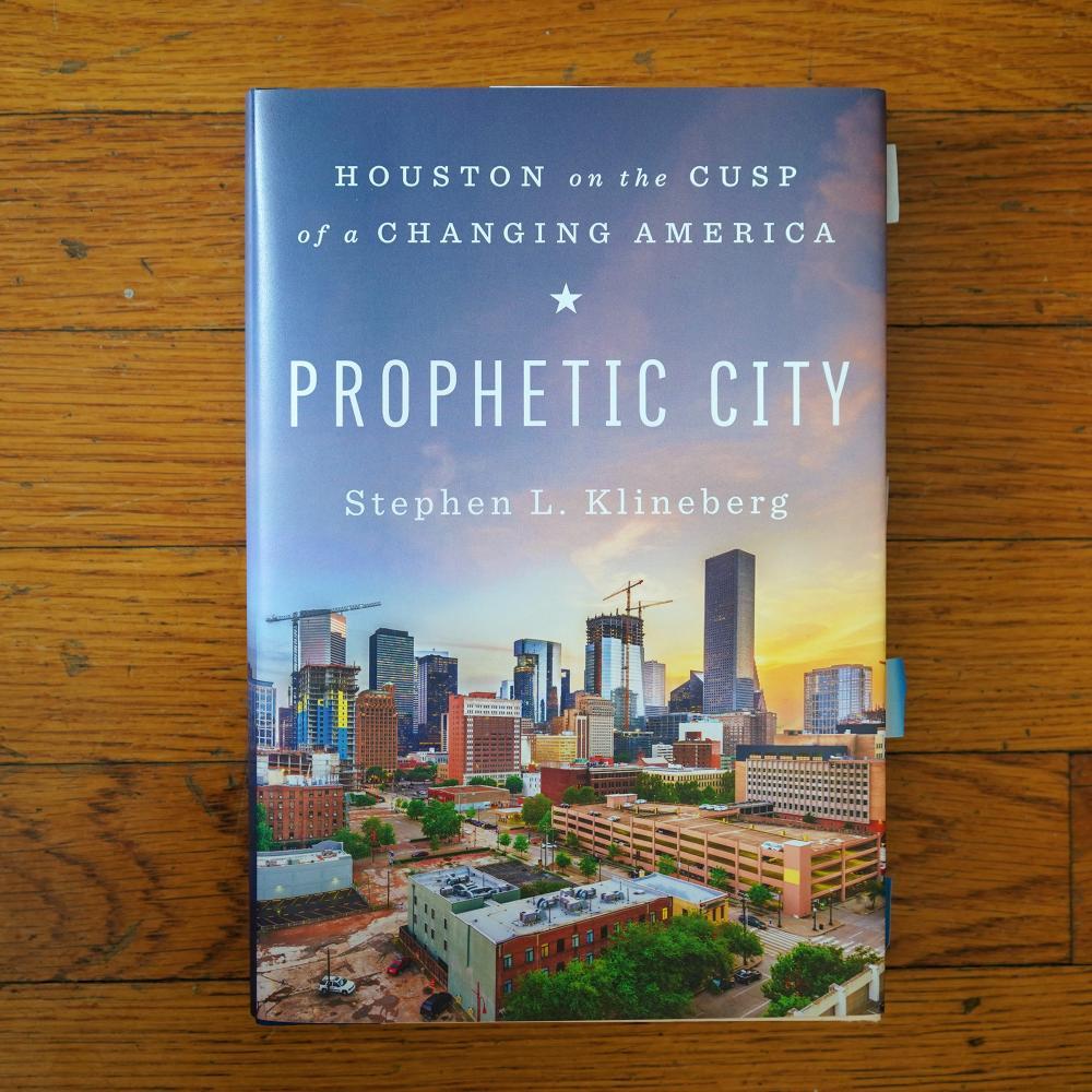 "Stephen L. Klineberg, ""Prophetic City,"" 2020."
