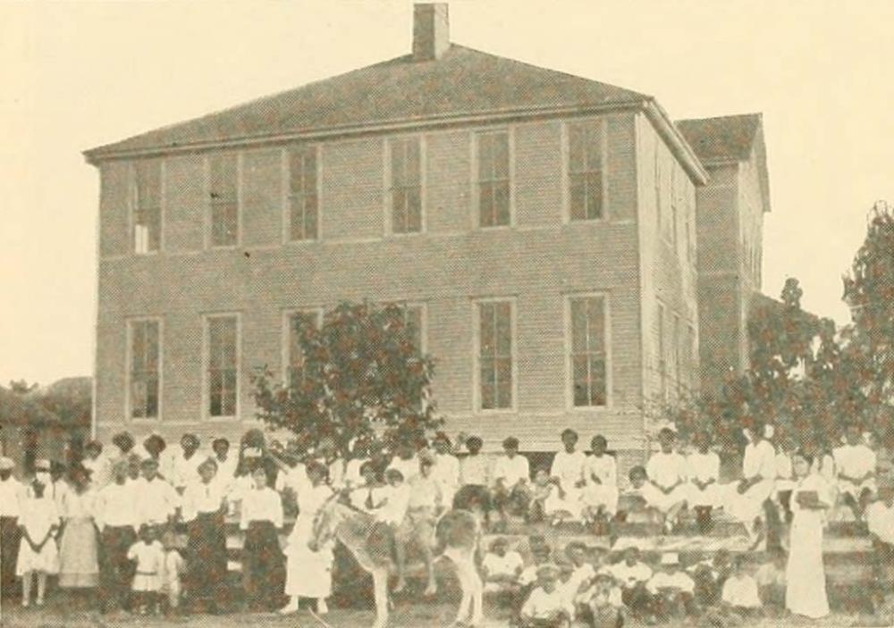 Gregory School, 1509 Wilson Street. Courtesy Woodson Research Center.