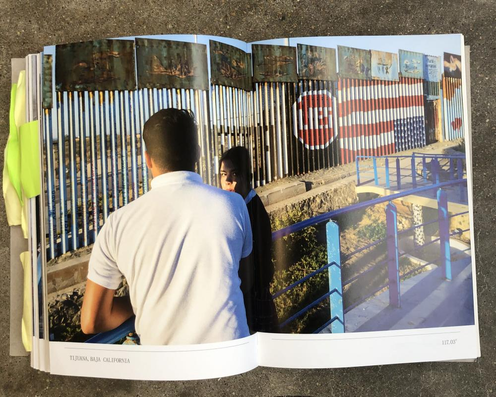 Two Sides of the Border. Photo by author.