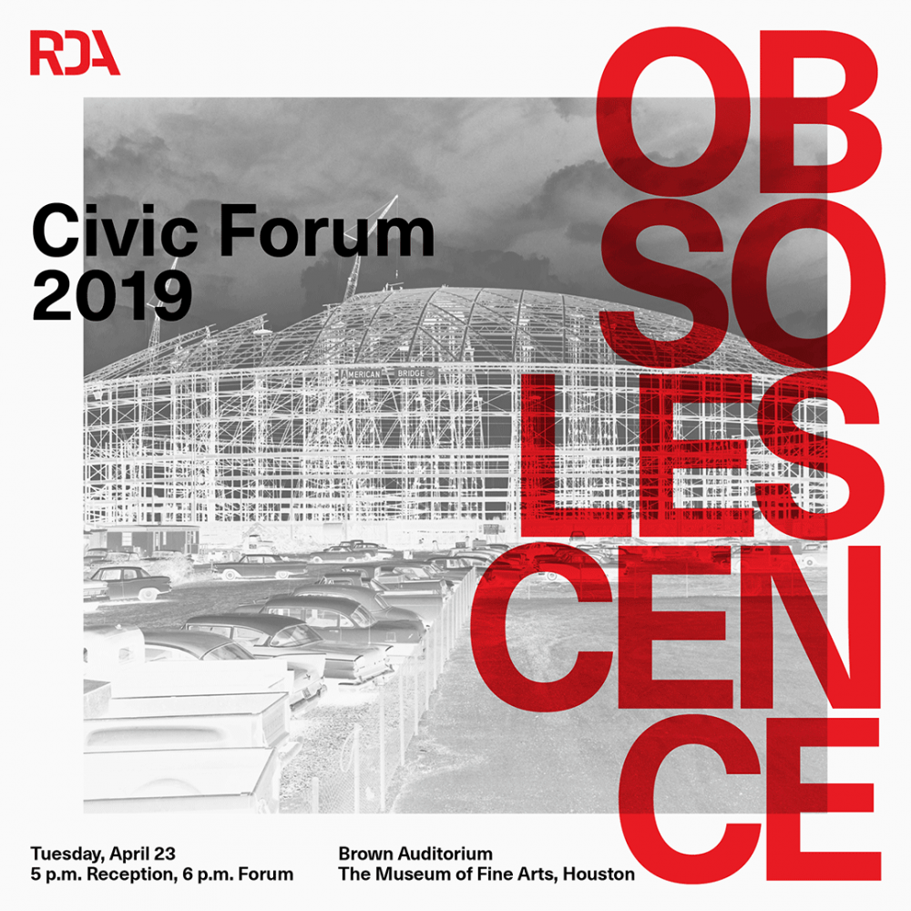 Civic forum poster