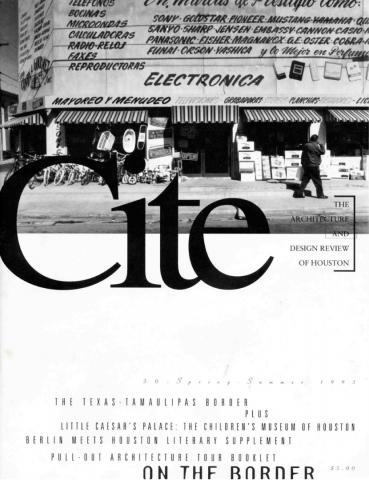Cite 30 Cover