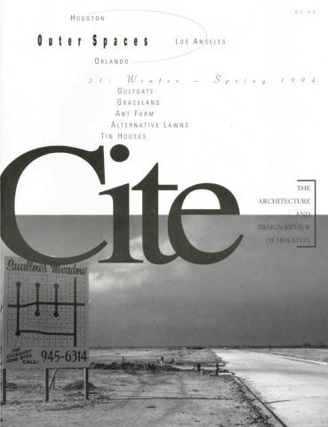 Cite 31 cover