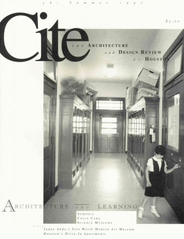 Cite 38: Architecture and Learning Cover Image