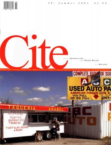 Cite 58 cover